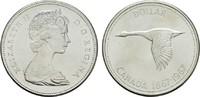 1 Dollar 1967. KANADA Elizabeth II. seit 1952. Stempelglanz -  13,00 EUR  zzgl. 4,50 EUR Versand