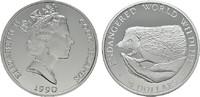 50 Dollars 1990. COOK ISLANDS Elizabeth II. seit 1952. Polierte Platte  16,00 EUR  zzgl. 4,50 EUR Versand