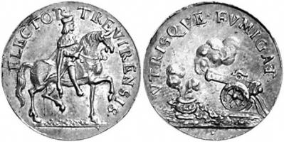 Medaille 1690 Trier, Erzbistum Medaille 1690 vz-st