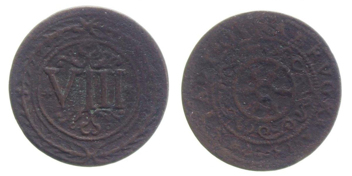 8 Pfennig 1597 Osnabrück, Std. s+, sehr selten