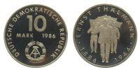 Gedenkprägungen 10 Mark 10 Mark PP 1986