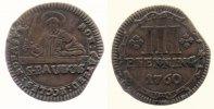 Münster, Domkapitel 3 Pfennig 3 Pfennig 1760