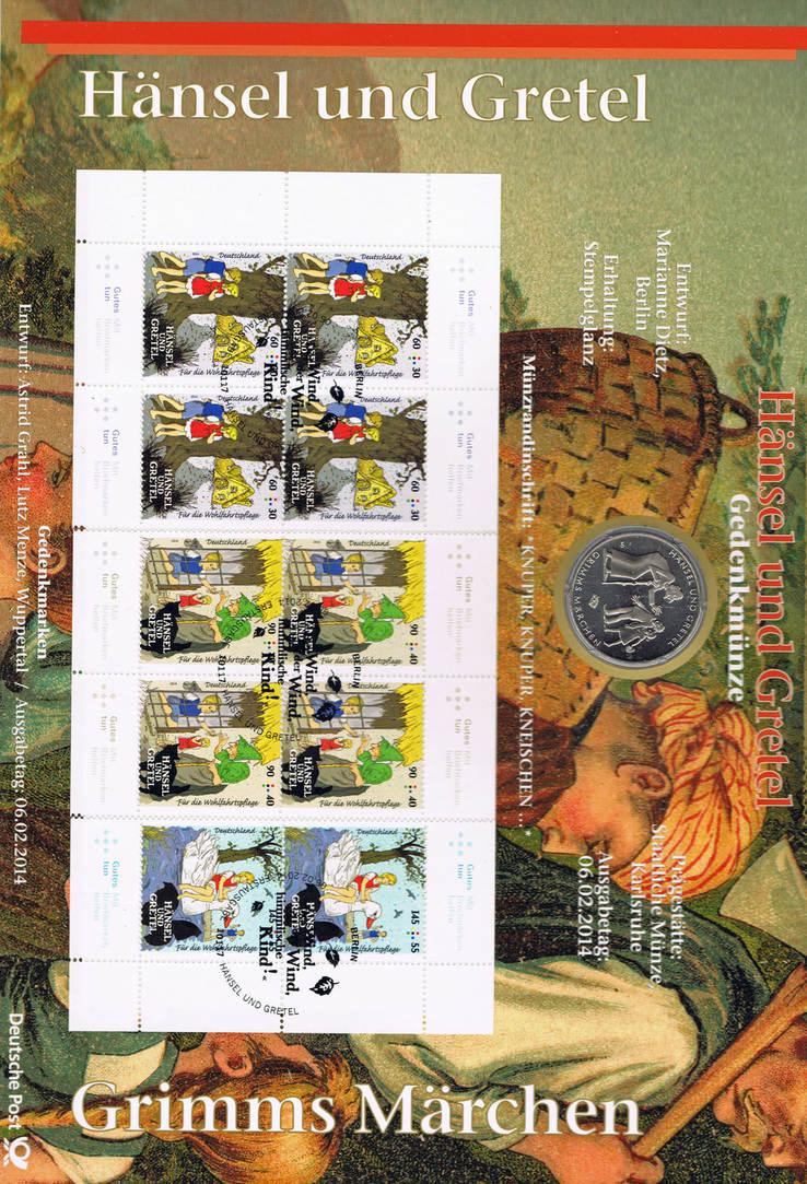 10 Euro 2014 Brd Deutschland Numisblatt 1014 Mit 10 Münze I