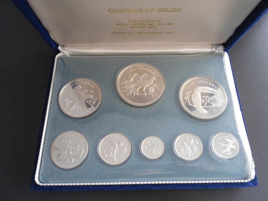1691 Dollars 1974 Belize Belize 1974 1 Cent 10 Dollars
