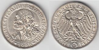 3 Mark 1928 Weimarer Republik 3 Mark Silber-Gedenkmünze 1928 D, Albrecht Dürer! Erhaltung siehe Scan vorzüglich bis stempelglanz
