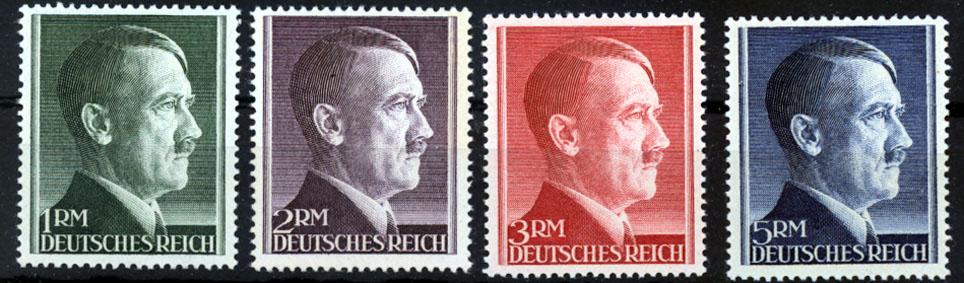 Von 1 Rm Bis 5 Rm 1942 Deutsches Reich Deutsches Reich Mi Nr 799