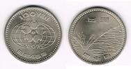 Japan 100 Yen Japan, Kursgedenkmünze, EXPO 1970, Erhaltung siehe Scan