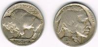 USA 5 Cents 5 Cents Kursmünze 1930, Indianer / Bison, siehe Scan!