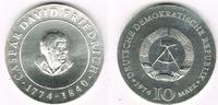 """Deutsche Demokratische Republik 10 Mark DDR, Gedenkmünze 10 Mark """"Caspar David Friedrich"""", siehe Scan!"""