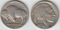 USA 5 Cents 5 Cents Kursmünze 1930 S, Indianer / Bison, siehe Scan!