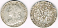 Großbritannien 1 Florin (Two shilling) Florin (Two shilling) 1899, Victoria, siehe Scan