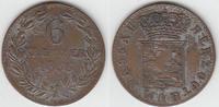 Altdeutschland - Nassau 6 Kreuzer Herzogtum Nassau, 6 Kreuzer, Wilhelm, Erhaltung siehe Scan!