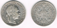 1 Florin (Gulden) 1890 Österreich Franz Joseph I., Florin 1890, Erhaltu... 14,50 EUR  zzgl. 5,00 EUR Versand