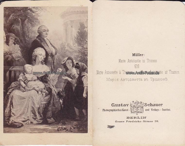 Um 1865 Frankreich Navarra Osterreich Ungarn Carte De Visite CdV Marie Antoinette In Trianon 2 3