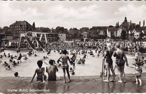 1965 wetter ruhr ansichtskarte postkarte wetter for Schwimmbad mulheim an der ruhr
