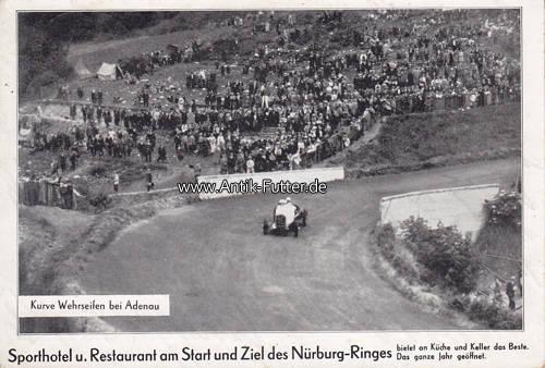 Oj Wehrseifenadenau Ansichtskarte Postkarte Motorsport