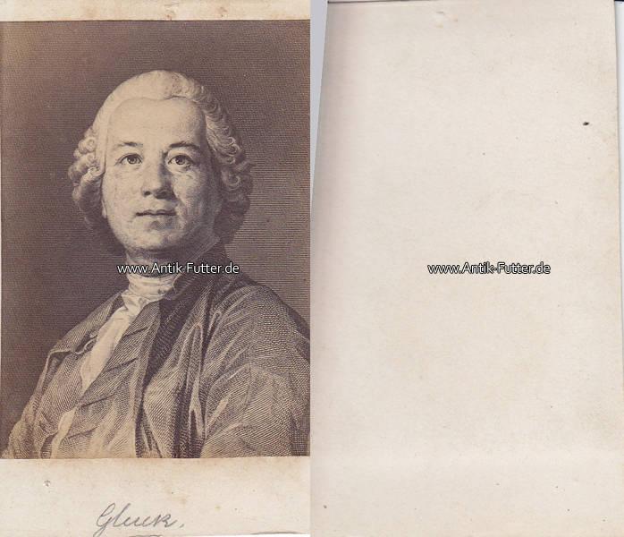 Um 1860 Erasbach Bei Berching Wien Osterreich Carte De Visite CdV Christoph Willibald Ritter Von Gluck Komponist 2 3