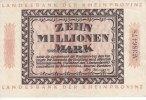 Rheinprovinz 10 Million Mark Rheinprovinz/Grabowski/RPR 20
