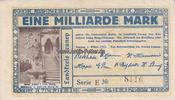 Lennep/Rheinland 1 Milliarde Mark Kreisausschuß des Kreises Lennep