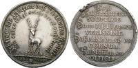 SACHSEN - GOTHA (- ALTENBURG) Silbermedaille o.J.