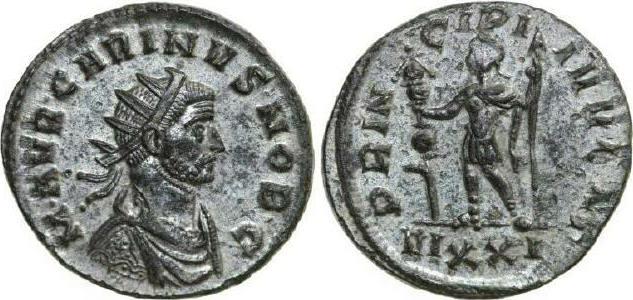 Antoninianus 282 - 285 AD Imperial CARINUS 282 - 285 AD. , 3.71g. RIC 177 Extremely Fine / Vorzüglich
