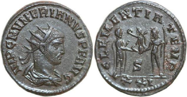 Antoninianus 282 - 284 AD Imperial NUMERIANUS 282 - 284 AD. , 4.26g. RIC 463v Extremely Fine / Vorzüglich