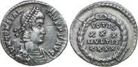 Imperial  CONSTANTIUS II 324 - 361 AD. AR Siliqua, 2.94g. RIC 216 Near Extremely Fine / Fa