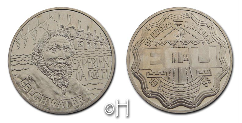 10 Ecu 1993 Niederlande Leeghwater - Experien Tiadocet pp.