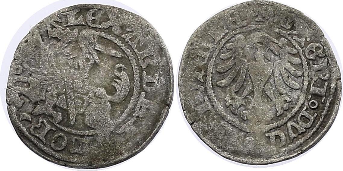1/2 Groschen o.J. Litauen Alexander (1492 - 1506) f.ss