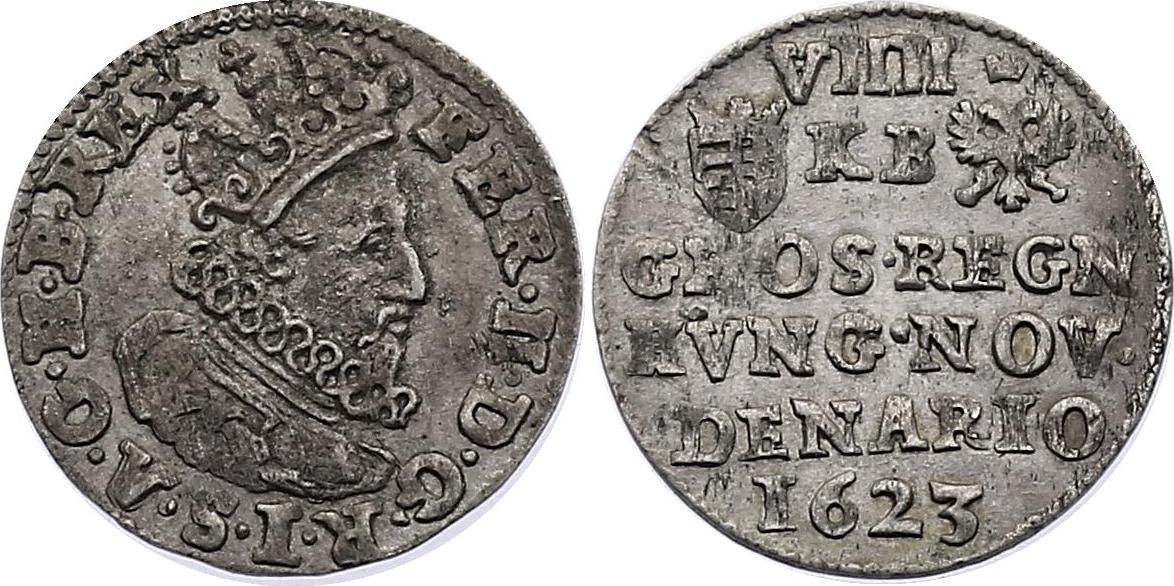 Groschen (zu VIII Denaren) 1623 KB RDR Ferdinand II. (1619 - 1637) vz, R