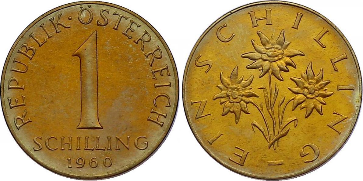 Schilling 1960 Österreich - II. Republik pp., R