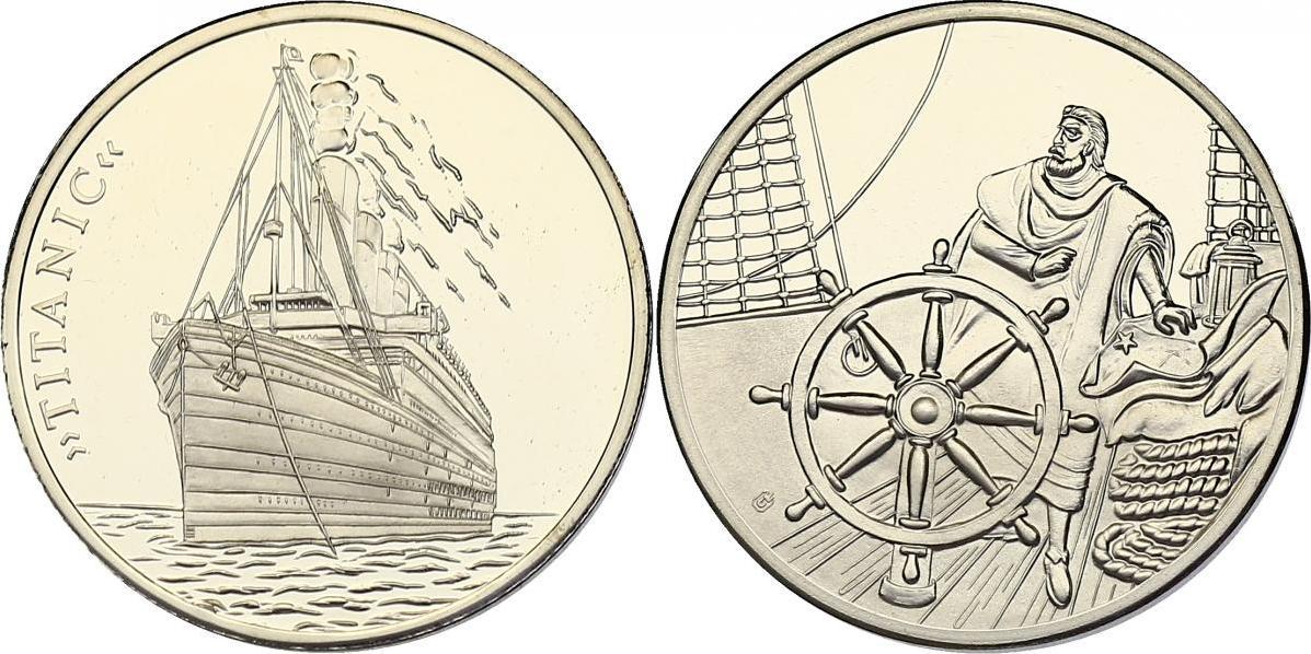 """Medaille o.J. """"Titanic"""" (Schiff) pp."""