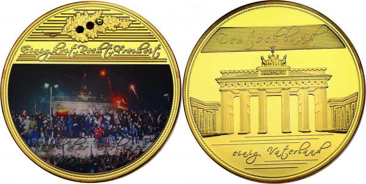 Medaille Gigant Oj Deutschland Quotfall Der Berliner Mauer