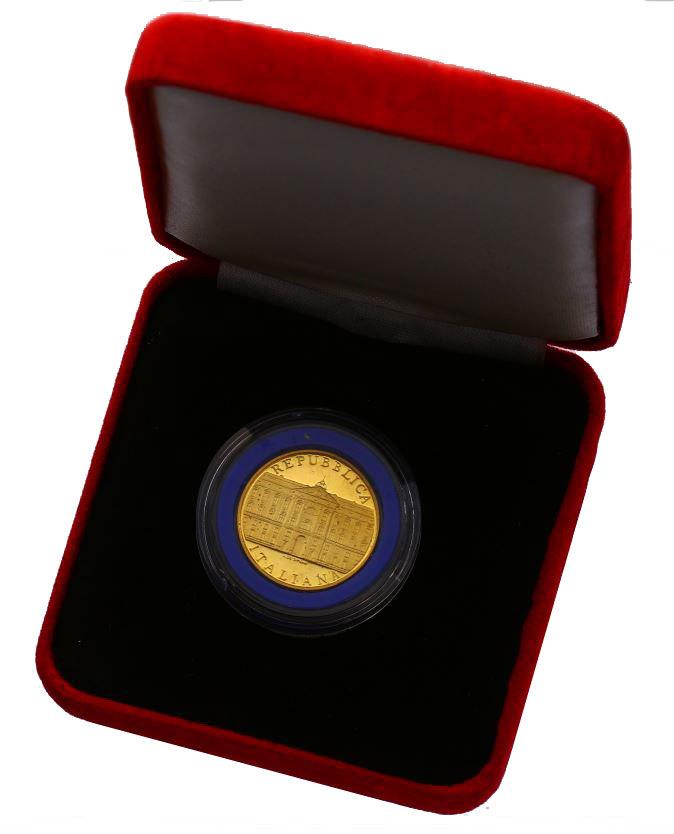 50000 Lire 2001 Italien Königspalast Caserta pp. im Originaletui mit Zertifikat