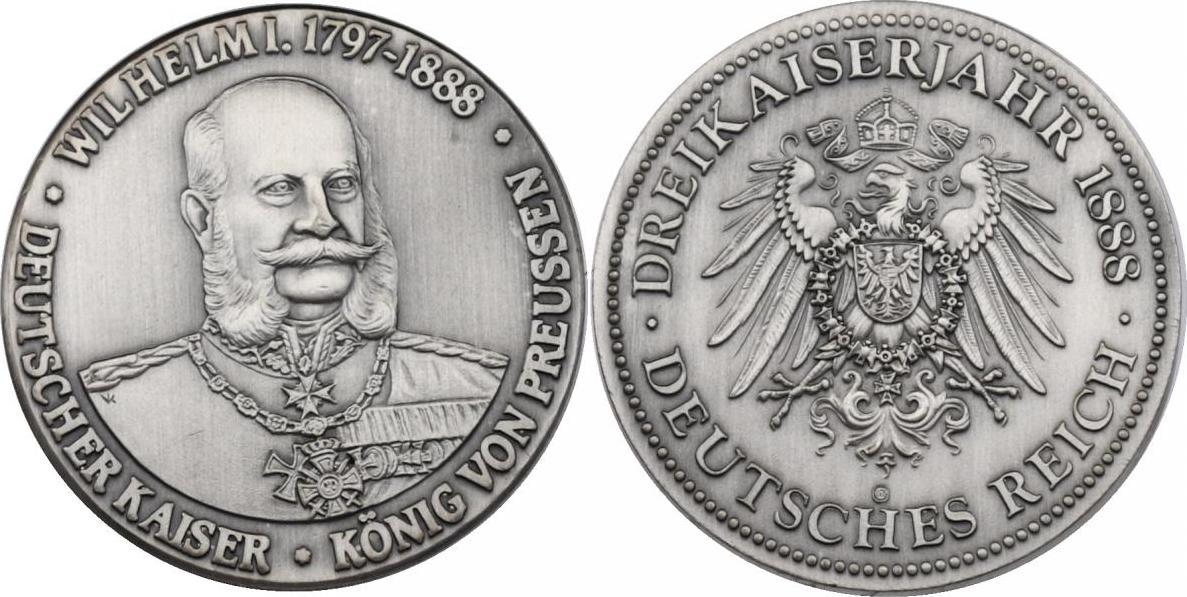 Medaille Oj Deutschland Preussen Wilhelm I 1797 1888