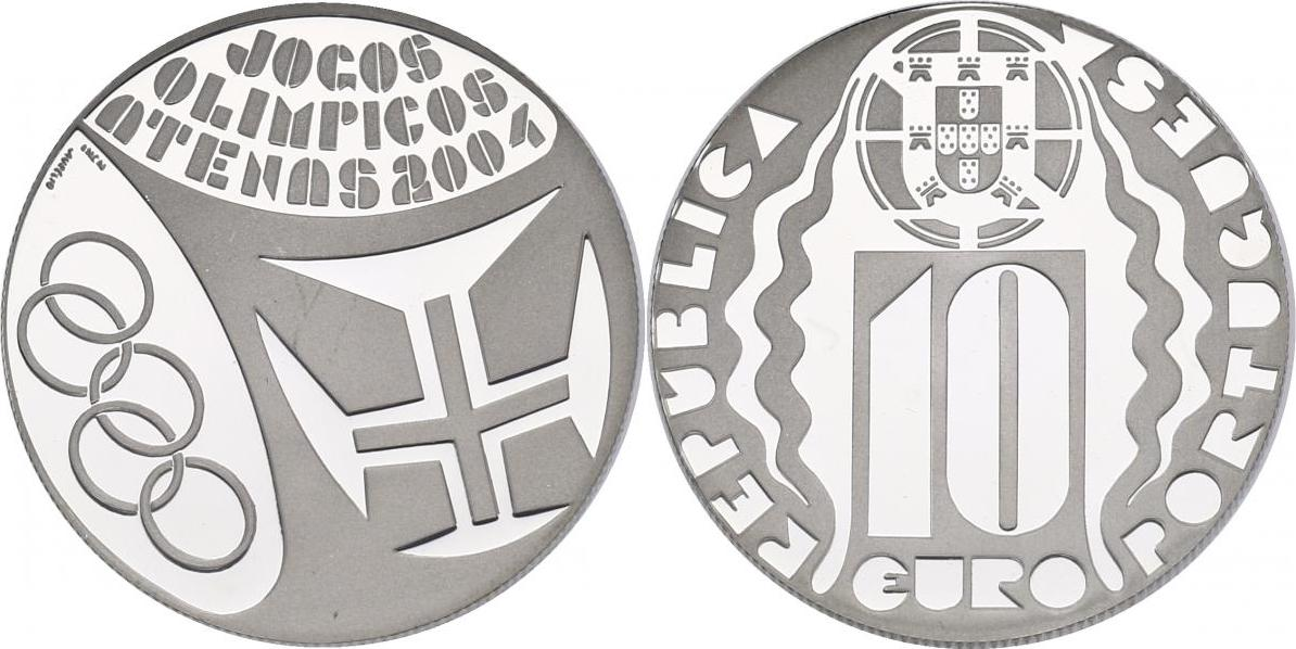"10 Euro 2004 Portugal ""Olympia Athen"" pp."