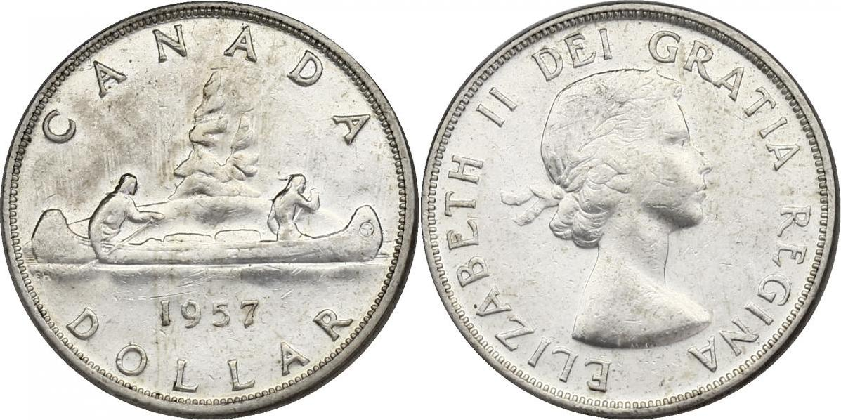 "Dollar 1957 Kanada ""Kanu"" vz"
