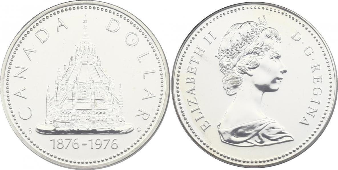 Dollar 1976 Kanada &quot: Parlamentsbibliothek&quot: prooflike