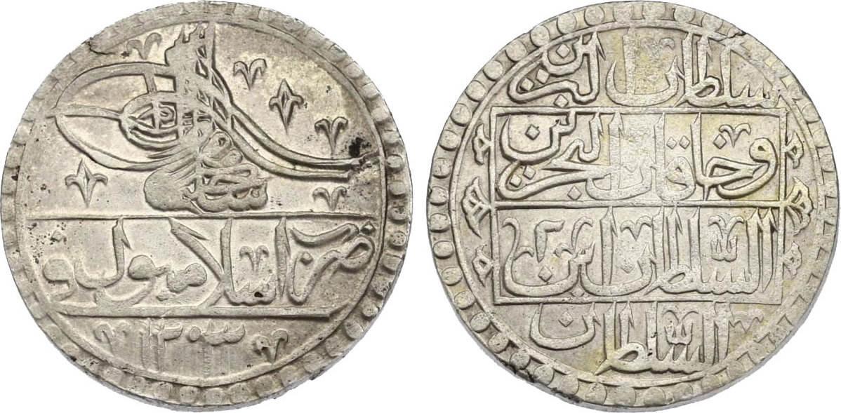 Yuzluk 1203/2 (1790) Türkei Selim III (1789 - 1807) ss-vz