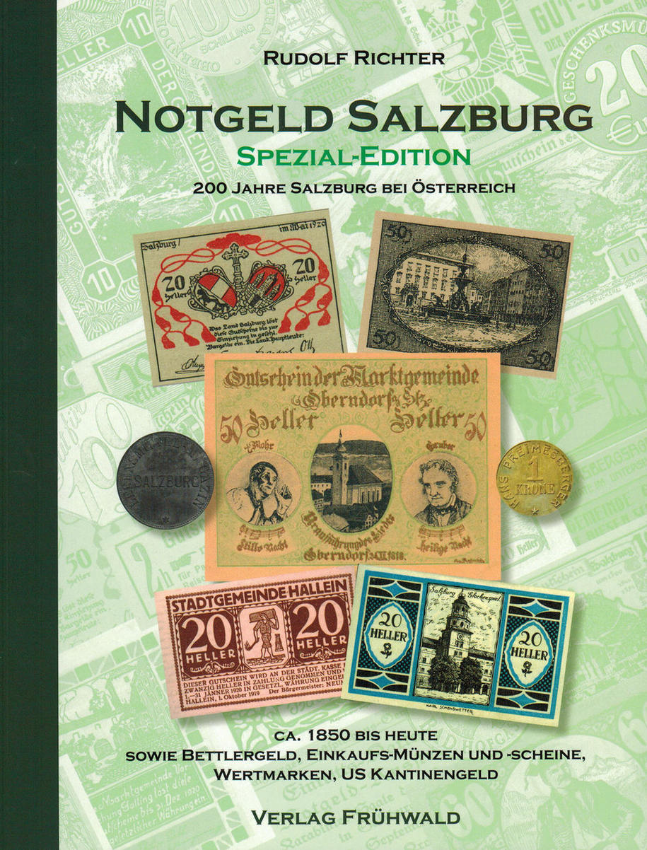 Katalog 2016 österreich Literatur Notgeld Salzburg Spezial
