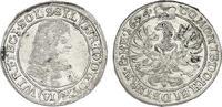Deutschland - Schlesien: Württemberg - Öls VI Kreuzer Sylvius Friedrich (1668 - 1697)