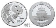 10 Yuan 2004 China Panda und Baby stgl.  85,00 EUR  zzgl. 9,90 EUR Versand