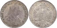1/2 Taler 1767 A S Hall RDR Maria Theresia (1740 - 1780) vz/f.stgl.  520,00 EUR  zzgl. 9,90 EUR Versand