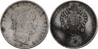 1/4 Gulden 1861 E Österreich - Ungarn Franz Joseph (1848 - 1916) f.ss, ... 1010,00 EUR kostenloser Versand