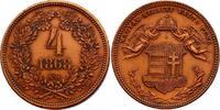 4 Krajczar 1868 KB Österreich - Ungarn Franz Joseph (1848 - 1916) vz-st... 80,00 EUR  zzgl. 9,90 EUR Versand