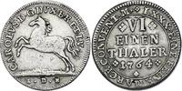 1/6 Taler 1764 IDB Deutschland - Braunschweig - Wolfenbüttel Karl I. (1... 70,00 EUR  zzgl. 9,90 EUR Versand