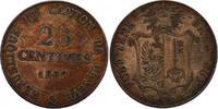 Schweiz - Genf 25 Centimes