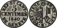 Schweiz - Genf 5 Centimes