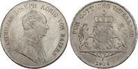 Taler 1808 Deutschland - Bayern Maximililan I. (1799 - 1825) vz  430,00 EUR  zzgl. 9,90 EUR Versand