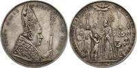 """Österreich Ag-Medaille """"Firmung"""" (Bischof Franz Maria, Linz/Bischof mit Jüngling) von Leo Zim"""
